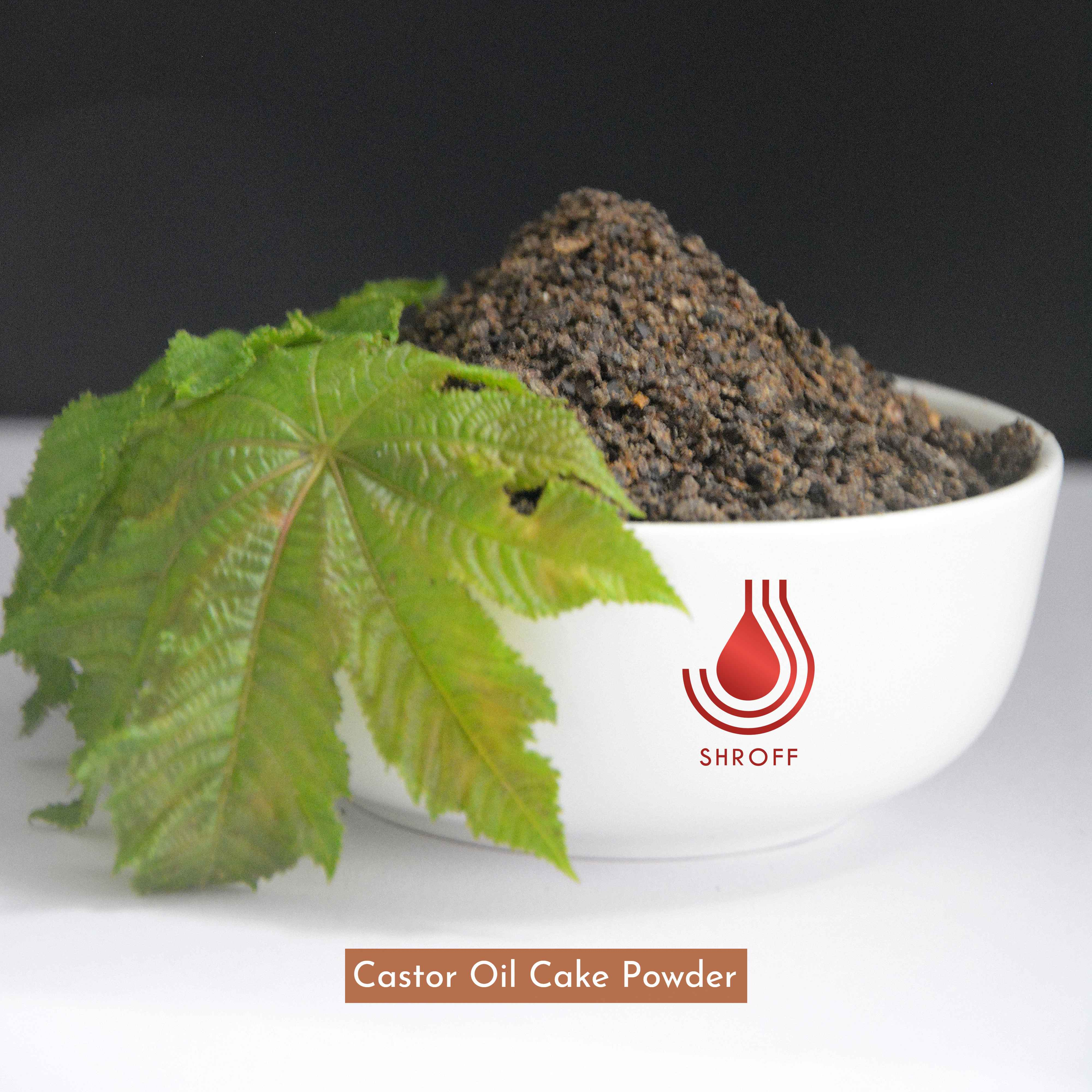 Castor Oil Cake Powder