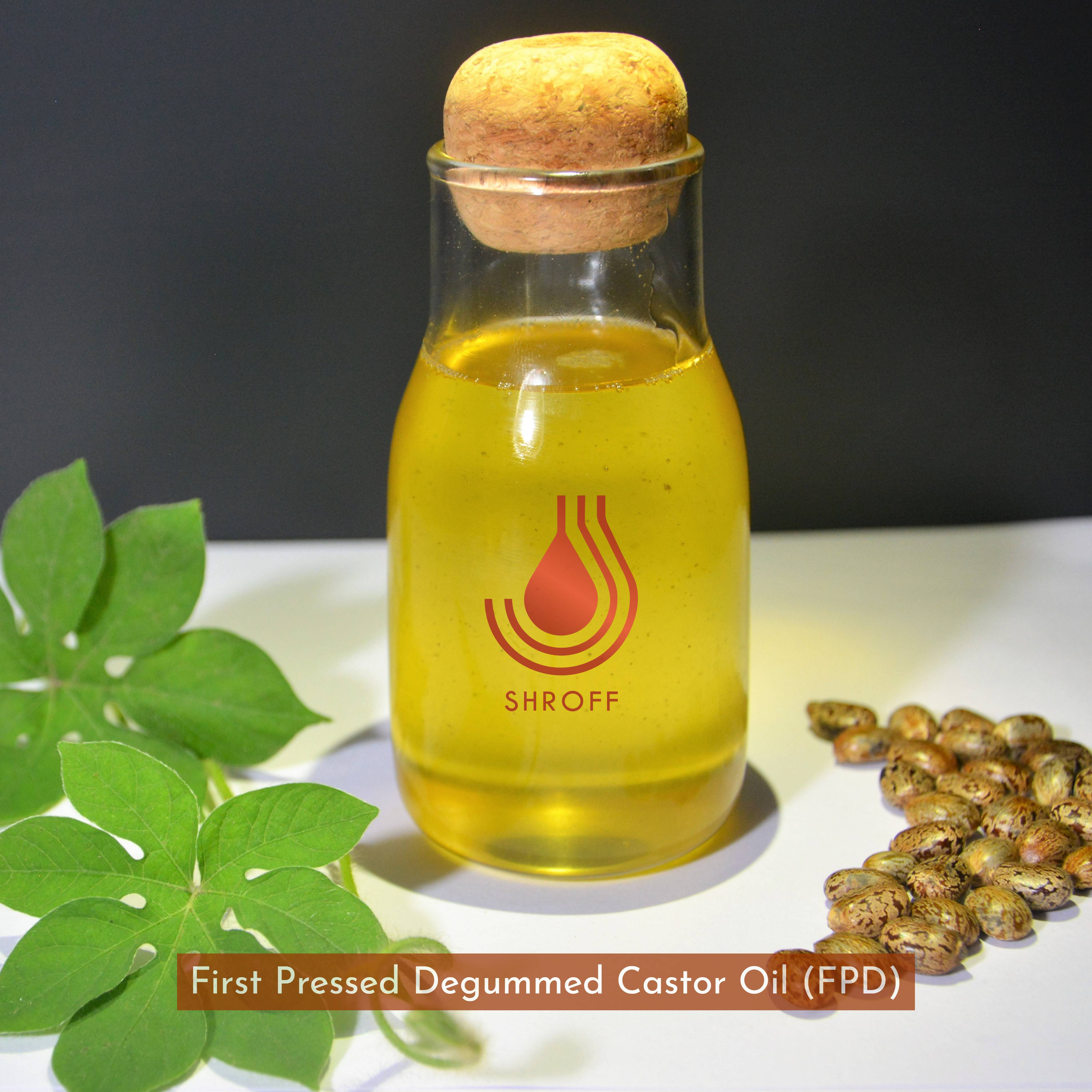 First Pressed Degummed Castor Oil (FPD)